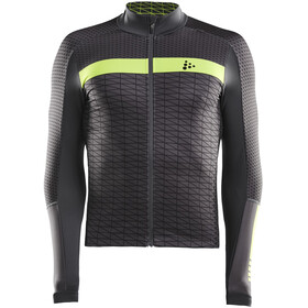 Craft Route Maillot manga larga Hombre, asphalt/acid